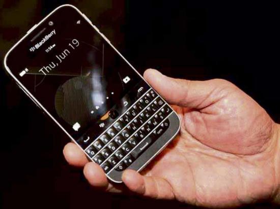 Blackberry no fabrica más su classic