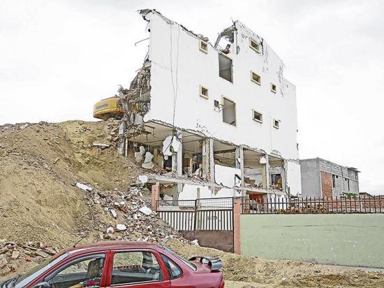 COE ordena nuevas demoliciones de  estructuras colapsadas