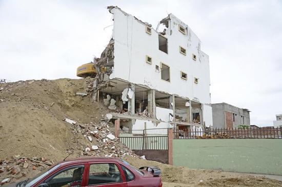 Más órdenes de demolición