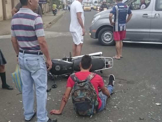 3 Lesionados en accidentes de tránsito
