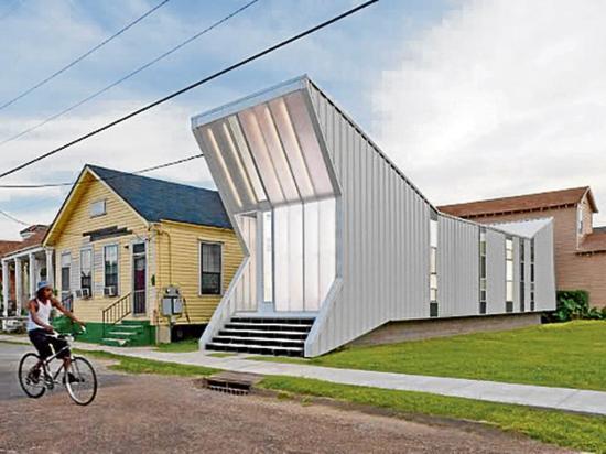 Casa prefabricada muestra cómo aprovechar espacios