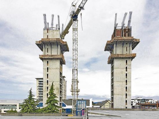 La madera 'viste' este rascacielos