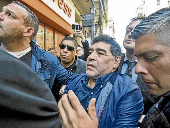 Maradona descartado en la Albiceleste
