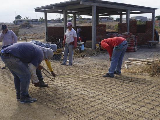 Obra en Monteolivo tiene 50% de avance
