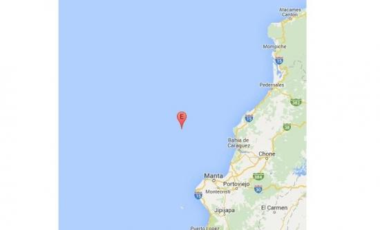 Fuerte sismo sacudió a varios cantones de Manabí
