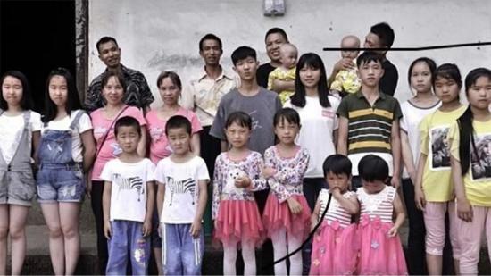 Gemelos 'inundan' una aldea de China