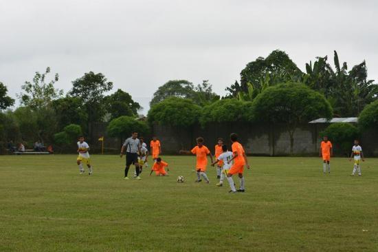 Escuelas de fútbol en etapa final