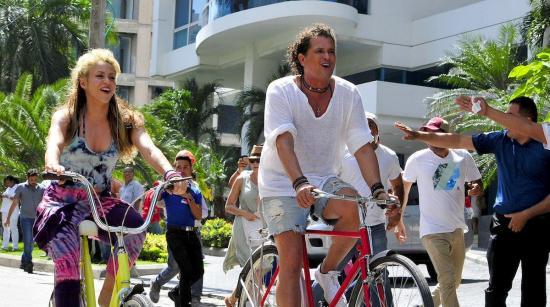Carlos Vives y Shakira estrenan vídeo de 'La Bicicleta'