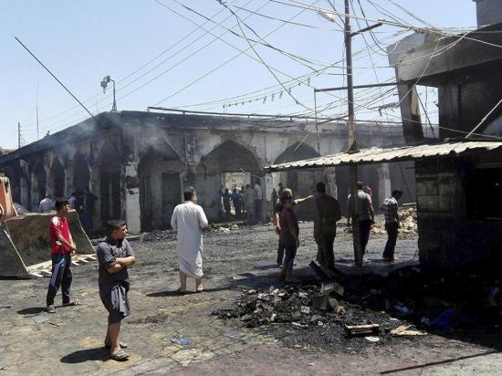 Ataque en mausoleo de Balad por el EI deja al menos 40 muertos