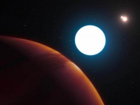 Descubren planeta con tres atardeceres