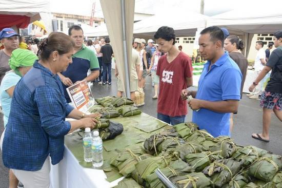 Más de tres mil personas en el festival de la Tonga en Sán Plácido