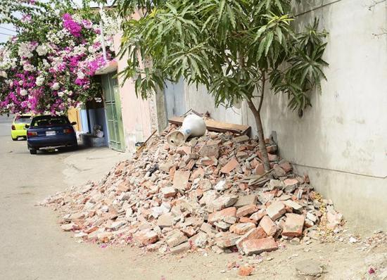 Piden agilidad en retiro de escombros