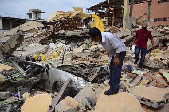 Chatarrizados por el sismo