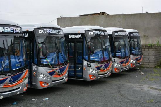 Inversión millonaria en buses urbanos
