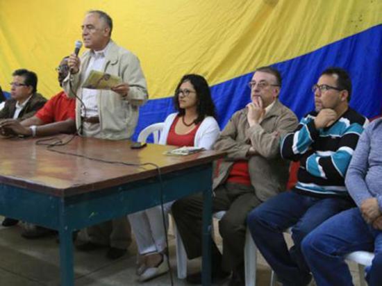 Paco Moncayo, precandidato a la presidencia de Ecuador