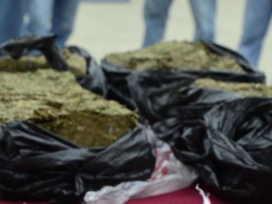 Salen desde Portoviejo con droga y son detenidos