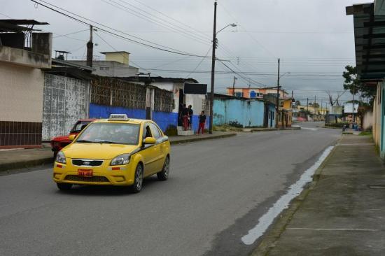 Se quedaron sin bus en el barrio Miraflores