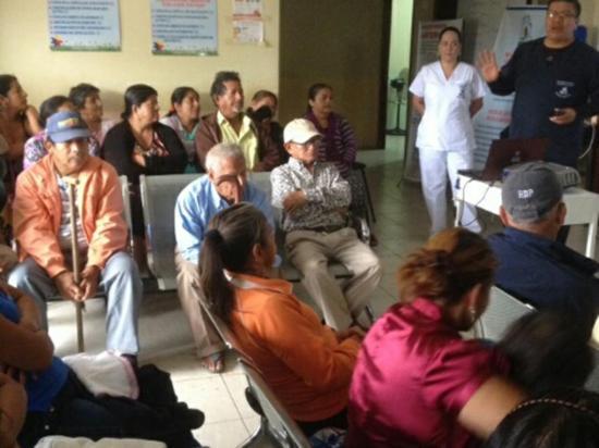 Solca da charlas de salud a los afiliados al seguro campesino en Montecristi