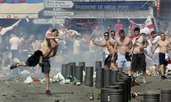 Francia detuvo a 1.550 personas durante la Eurocopa
