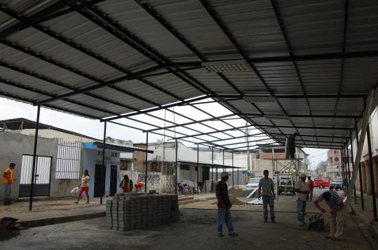 Construyen una capilla en Rocafuerte