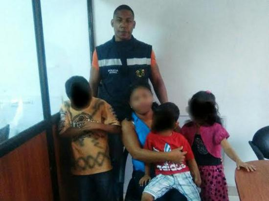 La Dinapen recupera a tres menores