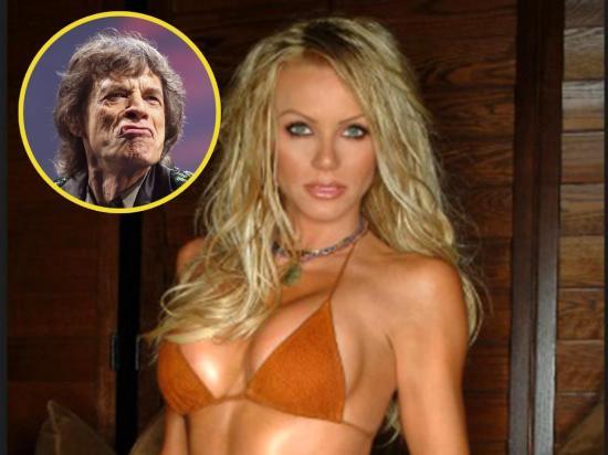 Nikki Ziering rechazó las propuestas amorosas del mítico Mick Jagger