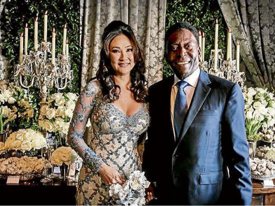 Pelé se casa por tercera ocasión