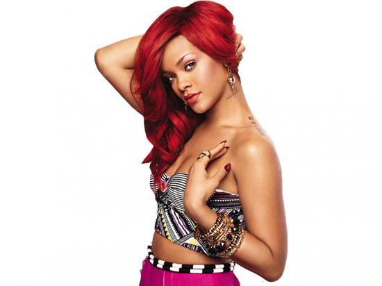 Rihanna respondió de forma graciosa cuando  le lanzaron un sostén