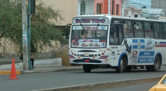 Buses viajarán por la 4 de Noviembre