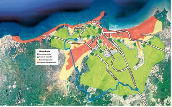 ¿A dónde ir en caso de tsunami?