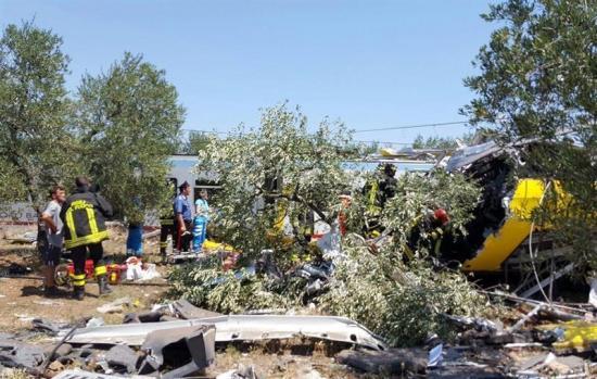 Al menos 20 muertos tras la colisión de dos trenes en Italia