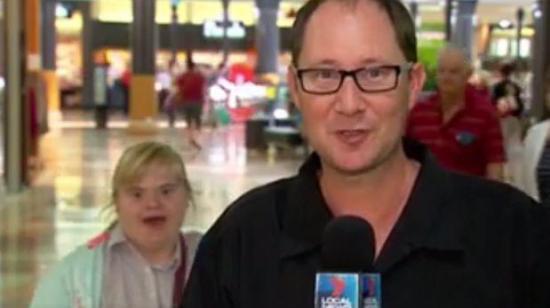 El tierno mensaje que una joven con síndrome de Down envió en televisión