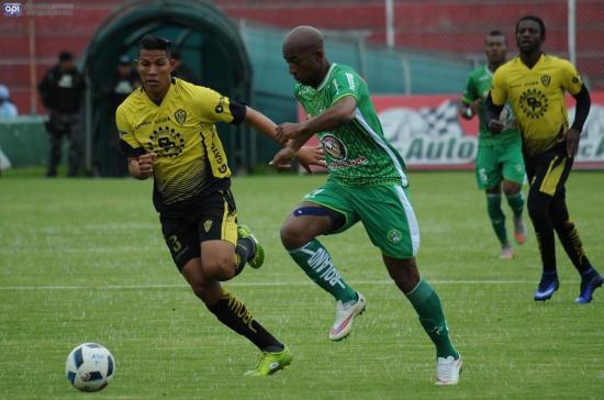Fuerza Amarilla vence por 2-0 al Mushuc Runa en Ambato