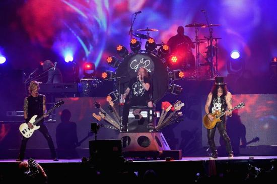 Guns N' Roses confirma concierto en Colombia en su gira latinoamericana