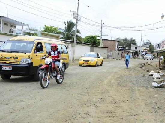 Moradores de Picoazá piden que mejoren la calle San Cristóbal