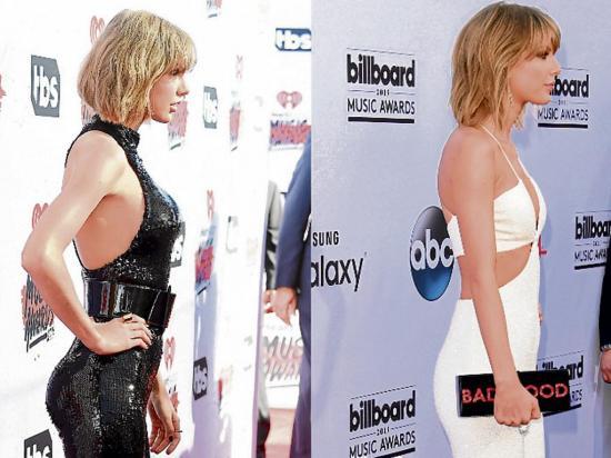 Se nota el cambio de Taylor Swift