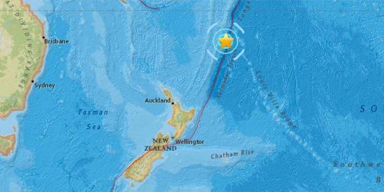 Terremoto de 6,3 grados sacude el norte de Nueva Zelanda
