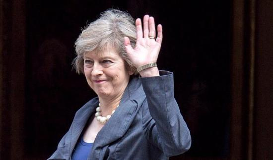 Theresa May ya es la nueva primera ministra del Reino Unido