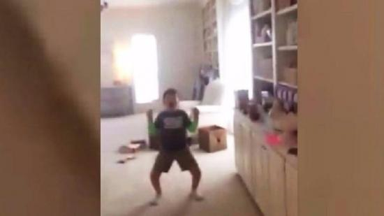 La conmovedora reacción de un niño al saber que venció al cáncer