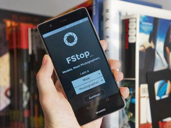 Fstop, la app para modelos y fotógrafos