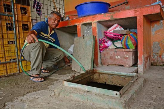 Reservorios de agua potable hacen falta en los barrios