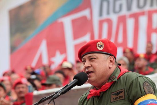 El chavismo no negociará 'nada' con la oposición venezolana, dice Cabello