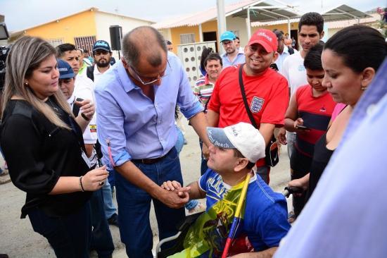 Personas con discapacidad, las primeras en recibir viviendas para damnificados