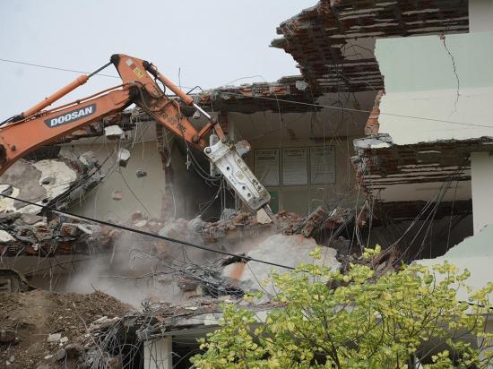 $ 21 millones pagados por las demoliciones en Manabí