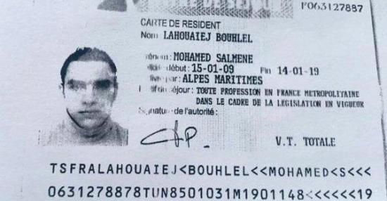 El autor del atentado de Niza, un tunecino 'no muy religioso' y con problemas familiares