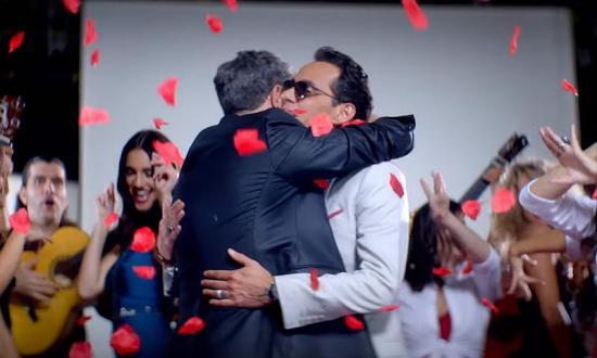 Marc Anthony y Alejandro Sanz unen sus voces en un nuevo tema musical