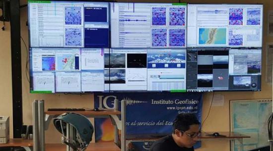 Más de 2.200 réplicas del terremoto de abril reporta el Instituto Geofísico