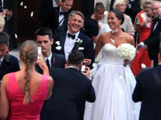 Ana Ivanovic  pasó por el altar con su 'capitán'