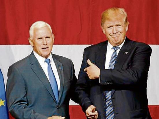 Donald trump define binomio