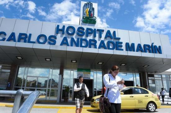Electrocutado se recupera en Quito